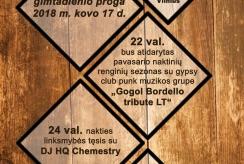 Vienas pirmųjų pub'ų Vilniuje Dirty Duck švenčia 4-ąjį gimtadienį