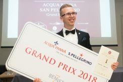 Po įtemptų varžybų išrinktas 2018 metų Lietuvos someljė čempionas - Martynas Pravilonis
