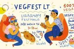 """Vegfest LT"" vasaros festivalis stebins augalinio maisto įvairove bei skoniu"